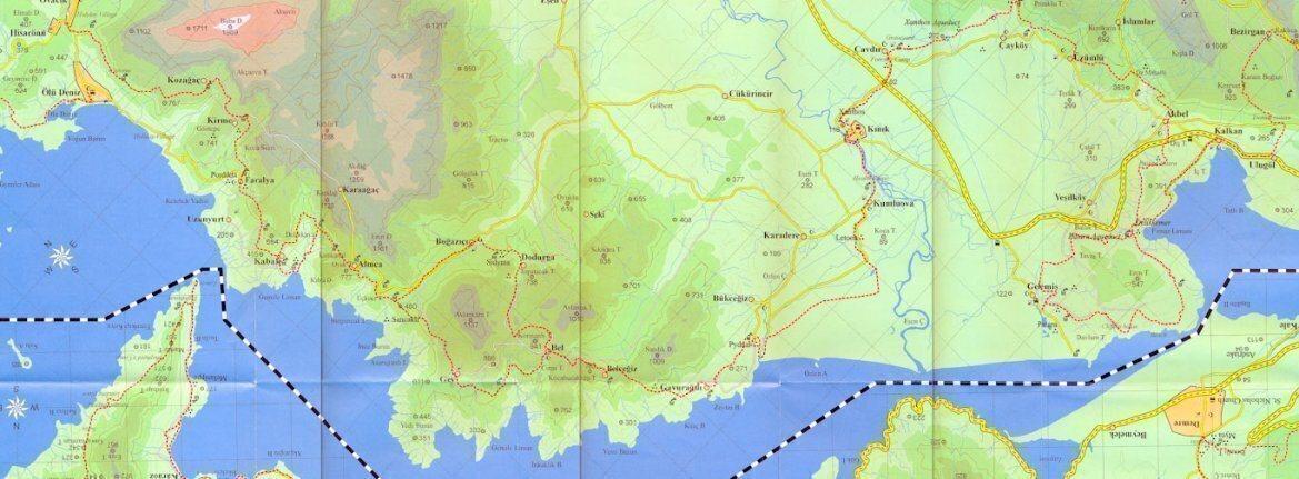 Ликийская тропа самостоятельно карата маршрута советы